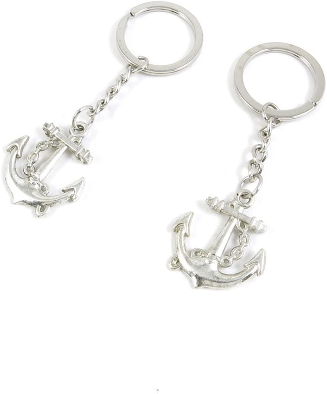 160 Pieces Fashion Jewelry Keyring Keychain Door Car Key Tag Ring Chain Supplier Supply Wholesale Bulk Lots K7HW8 Boat Anchor