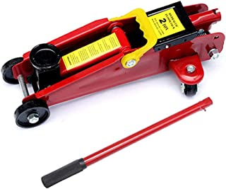 SMFYY Hydraulic Trolley Jack, Horizontal Jack, 2 Ton Automotive Hydraulic Jack, Suitable for Home Or Car Repair Factory