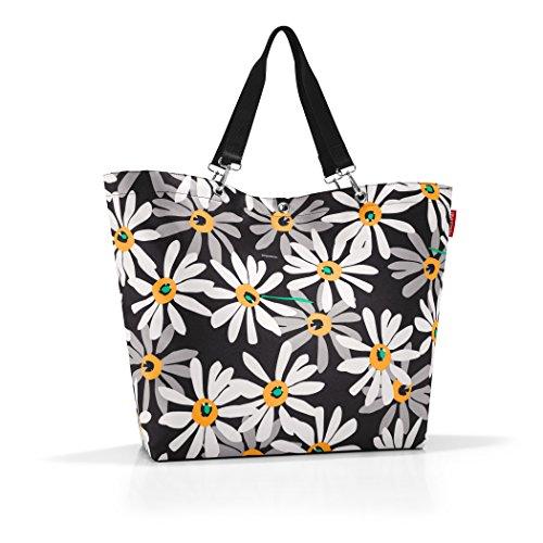 reisenthel - Bolsa para la compra (tamaño XL, 68 x 45,5 x 20 cm, 35 L), diseño de margaritas