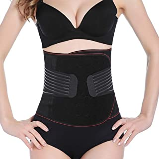 Theochic Waist Trimmer for Women Men Wasit Trainer Belt - Slimming Body Shaper Belt - Sport Belt Vest Adjustable Waist Cincher Trimmer