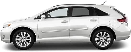 Dawn Enterprises CF2-VENZA Chromeline Body Side Molding Compatible with Toyota Venza - Parisian Night Blue Pearl (8W6)