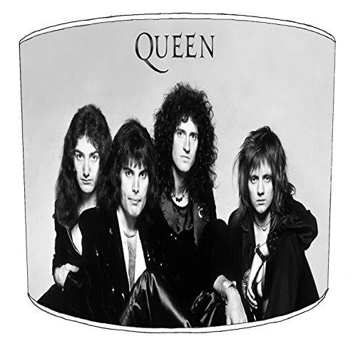 Premier Lighting Ltd 8 inch Queen Freddie Mercury Rock Bands paralumi4 per Una Lampada da Tavolo