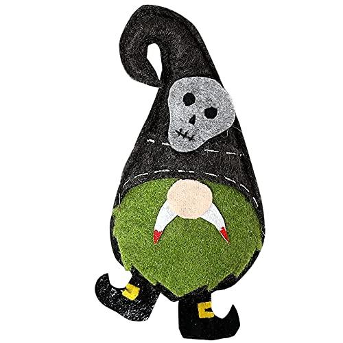 SLJXY Decoración de Halloween con fantasma colgante sin cara de hombre mayor, decoración de Halloween, decoración de casa de espíritu