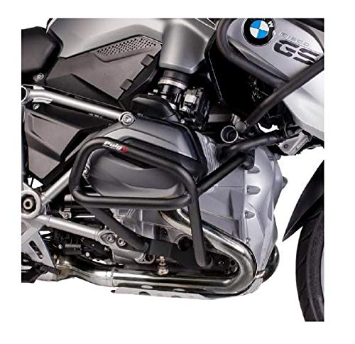 Puig 7543N Engine Guard Down per BMW R1200GS 2014, Nero