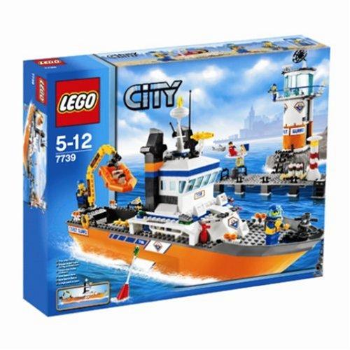 LEGO City - Lancha y Torre de vigilancia de los Guardacostas