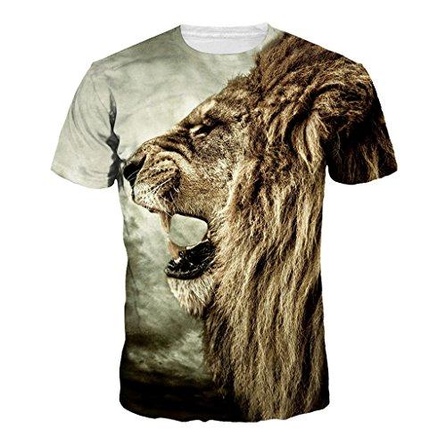 Camiseta León fiero