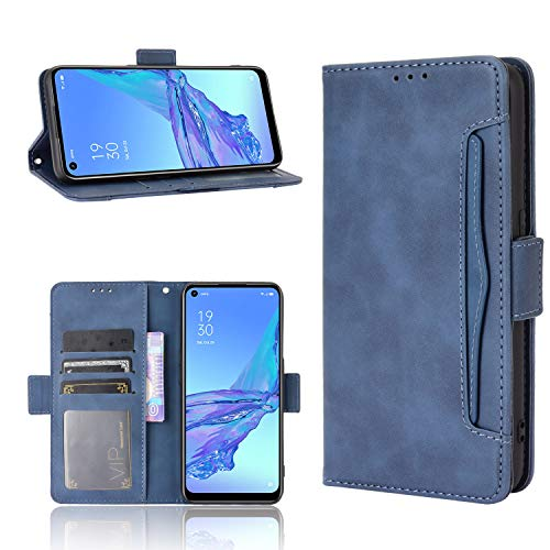 HEYB Cover per OnePlus Nord N100 Custodia,Pelle Premium Magnetica Slot Flip Portafoglio Custodia Compatible OnePlus Nord N100 Smartphone