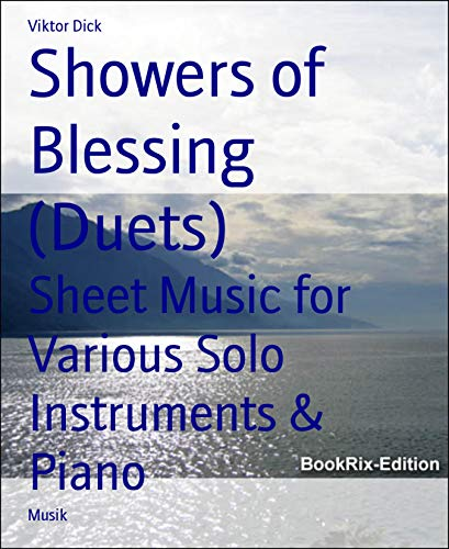 Showers of Blessing (Duets): Sheet Music for Various Solo Instruments &...