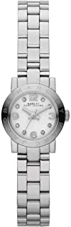Marc by Marc Jacobs Amy Dinky Women's White Dial Stainless Steel Band Watch - MBM3225