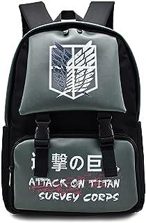 حقيبة ظهر للحاسب المحمول عليها هجوم هوج على تيتان