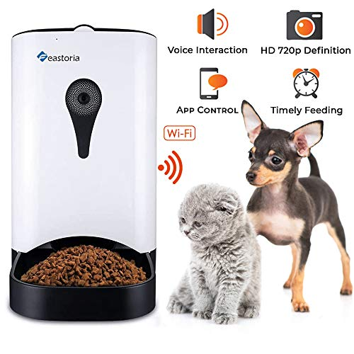 Feastoria Automatic Pet Feeder with HD Camera