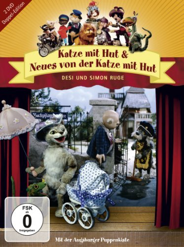 Augsburger Puppenkiste - Katze mit Hut/Neues von der Katze mit Hut (Doppel-Edition)
