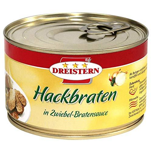 Dreistern Hackbraten in deftiger Zwiebel-Bratensauce 6 x 400g