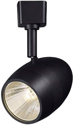 ハンプトンベイ2.56?in。1-lightブラック調光機能付きLEDトラック照明ヘッド