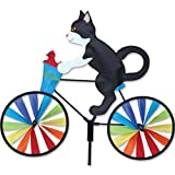 Premier Kites 20 in. Bike Spinner - Tux Cat