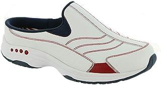 Easy Spirit Travel Time Women's Slip On 8.5 2A(N) US White-Red-Blue-American