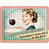Nostalgic-Art 26100 Say it 50's - Cook With Wine,
