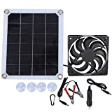 Jopwkuin Panel Solar Portátil, Extractor Solar De Alta Eficiencia para Yates