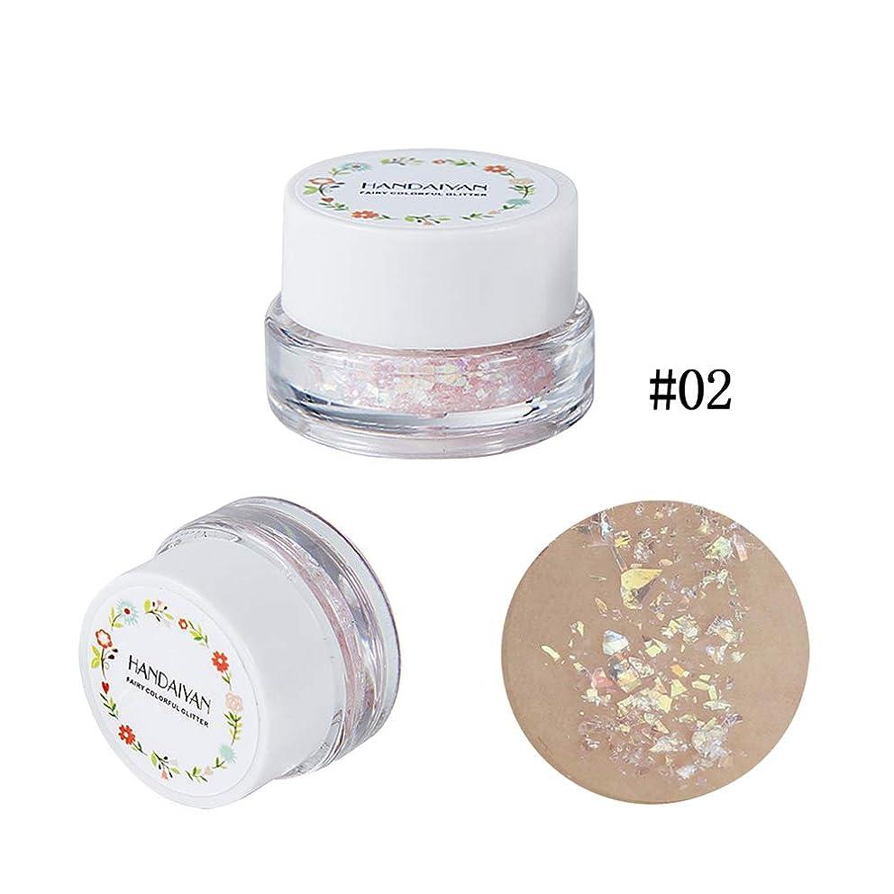 DIY Facial Glitter Effect Cosmetic Eyeshadow Diamond Sequins Gel Hair Lips Makeup (02)
