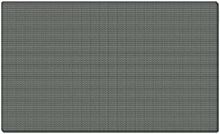 Ghent 18x24 Fabric Tackboard w/ Wrapped Edge - Gray - Made in the USA by Ghent
