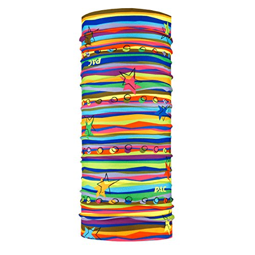 P.A.C. Kids Original Stellar Multifunktionstuch - nahtloses Mikrofaser Schlauchtuch, Halstuch, Schal, Kopftuch, Unisex, 10 Anwendungsmöglichkeiten
