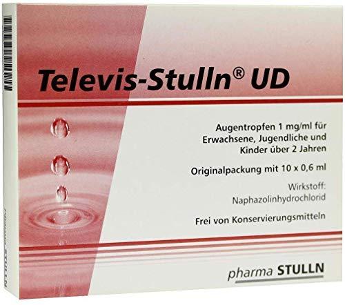 TELEVIS Stulln UD Augentropfen 10X0.6 ml