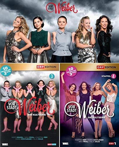 Staffel 3+4 (Österreich Version 6 DVDs)