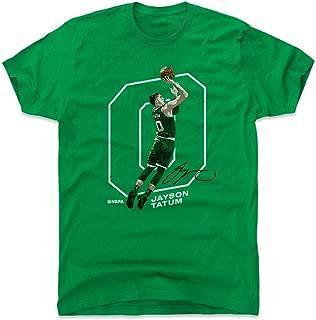 500 LEVEL Jayson Tatum Shirt - Boston Basketball Men's Apparel - Jayson Tatum Outline