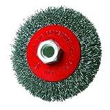 Silverline 763625 - Cepillo circular de acero cardado (115 mm)