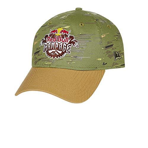 Red Bull Rampage New Era 9Twenty Freeride Cap, Unisex One Size - Official Merchandise Green