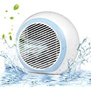 Personal Air Conditioner, Air Personal Space Cooler with Humidifier and Air Purifier USB Mini Portable, Quick & Easy Way to Cool Any Space with LED Lights
