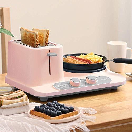 LIUCHANG Máquina de Desayuno multifunción Tres en uno con una tostadora de 6 velocidades Pozo de Carga rápida para una Salud Conveniente liuchang20