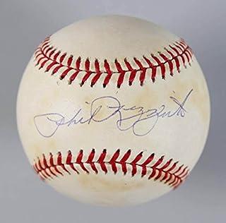Phil Rizzuto Signed Baseball Yankees – COA Steiner
