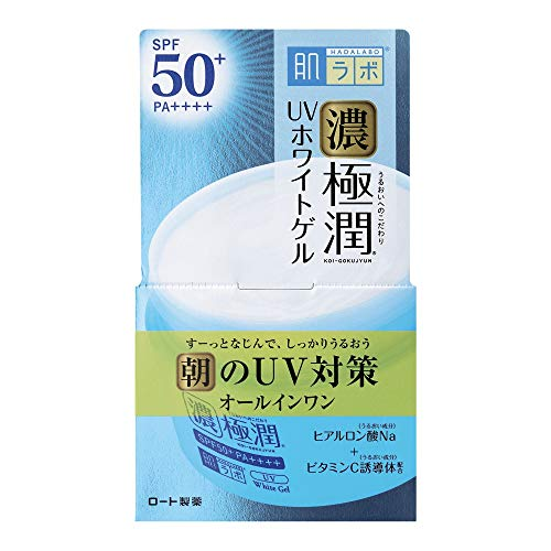 Japan Health and Beauty - Skin lab Gokujun UV white gel (SPF50 + PA ++++) 90g *AF27*