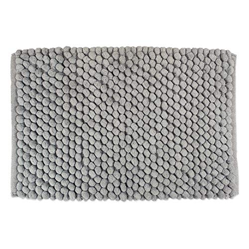 DII Ultra Soft Plush Spa Microfiber Shag Chenille Bath Mat Place in Front of Shower, Vanity, Bath Tub, Sink, and Toilet, 17 x 24