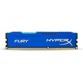 HyperX HX318C10F/4 Fury 4 GB, 1866 MHz, DDR3, CL10, UDIMM, 1.35V, Blu
