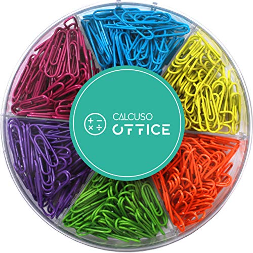 Graffette multicolori, 6 colori diversi, 480 pezzi