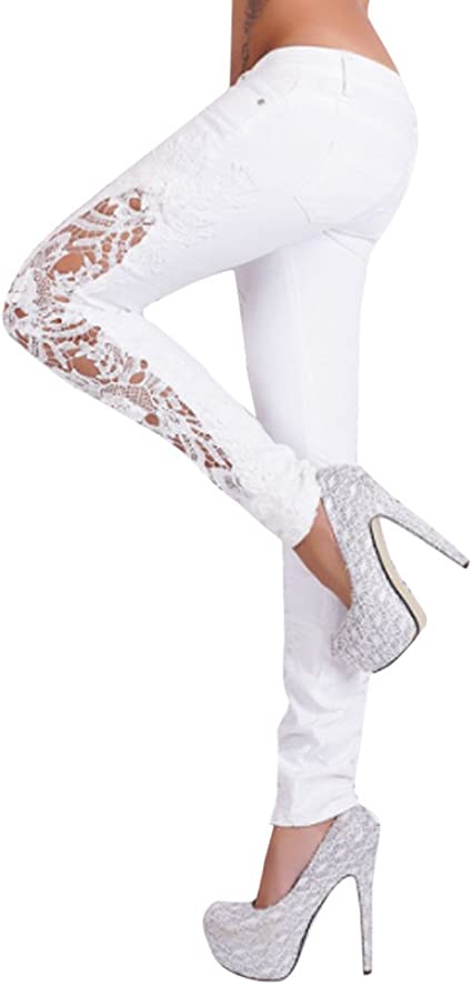 MINXINWY Pantalones Vaqueros Mujer Slim fit, Pantalones Mujer ...