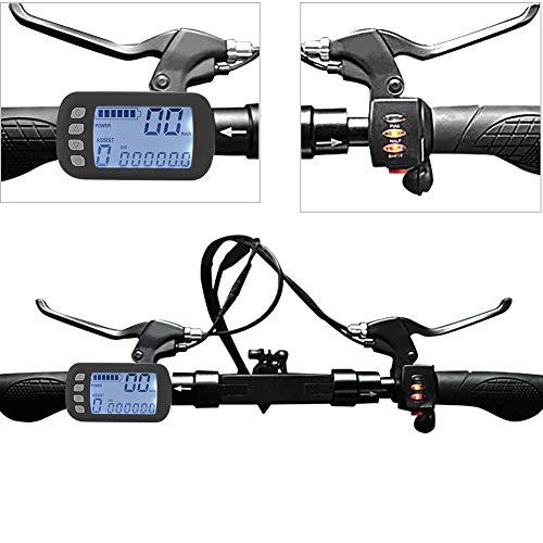 Brushless Motor Controller LCD Panel Kit für E-Bike Elektroroller E-Bike 24V/36V 250W/350W