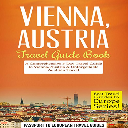 Vienna, Austria - Travel Guide Book Titelbild