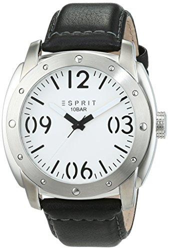 Esprit Reloj Analogico para Hombre de Cuarzo con Correa en Cuero ES106381002