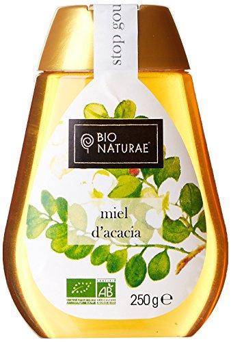 Bionaturae Miel d'Acacia Squeezy 250 g - Lot de 2