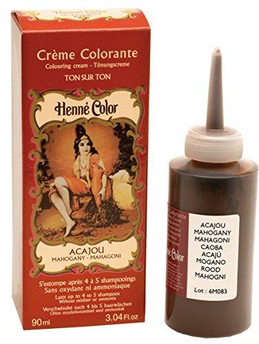 Henné Color Crème Colorante Acajou 90 ml