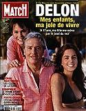 PARIS MATCH [No 3040] du 23/08/2007 - A L'ILE MAURICE AVEC ANOUCHKA ET ALAIN-FABIEN - LES ENFANTS D'ALAIN DELON - PEROU - MARTINIQUE - LES COLRES DE LA TERRE - PEDOPHILIE - LE DRAME D'ENIS REVOLTE LA FRANCE - PORTO CERVO - L'ESCALE DOREE DES SUPER-RICHES