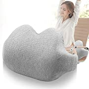 wote Lumbar Support for Office Chair, Memory Foam Back Cushion with Adjustable Straps, Breathable,Washable,Ergonomic Lumbar Support Cushion for Lower Back Pain Relief