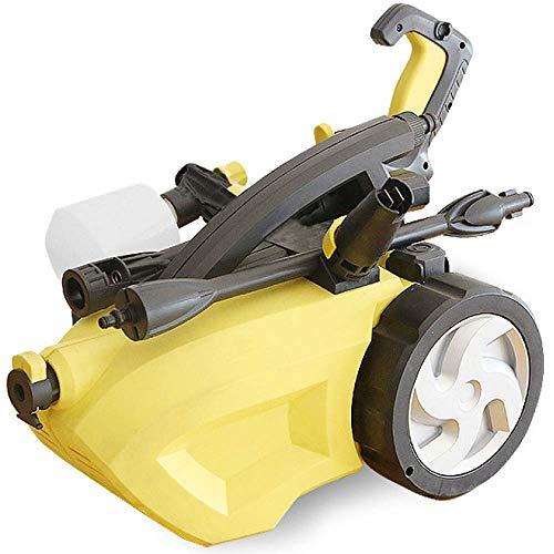 Hogedrukreiniger met accessoires voor inductiemotor, draagbaar, met accessoires, hogedrukreiniger, gemakkelijk voor in huis, tuin, terras, voertuig