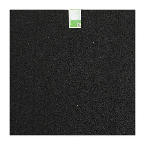 Tapis de machine à laver en granulés de caoutchouc - 60 x 60 x 0,6cm * Robuste * Haute densité * Polyvalent | Base de machine à laver amortissant les vibrations, tapis de granulés de caoutchouc, tapis anti-vibration