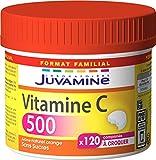 Juvamine - Vitamine C500, Maxi Format - 120 Comprimés à Croquer