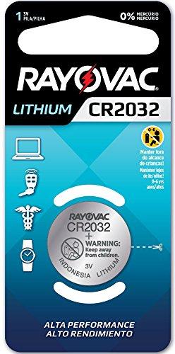 BATERIA DE LITHIUM 3V COM 1 CR2032