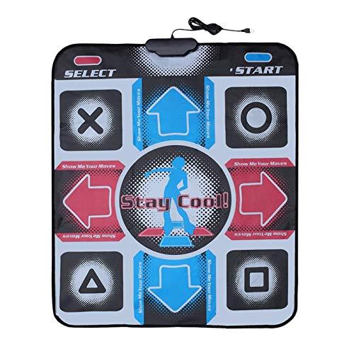GOLUT USB Non-Slip Dancing Step Dance Mat Pad Blanket Compatible for PC Laptop Video Game